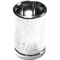 "7/16"" Socket For 1/4"" Ratchet"